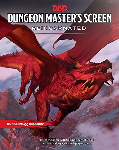Dungeons & Dragons C36870000 RPG-Dungeon Master's Screen Reincarnated-Englisch - Master Game Rpg