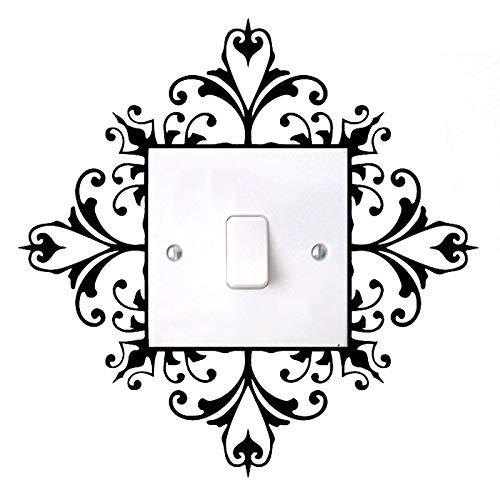 haotong11 5 Juegos de interruptores de luz Pegatinas de calcomanías de Arte...