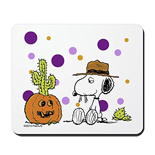 CafePress–Spikey Halloween–rutschfeste Gummi Mauspad, Gaming Maus Pad