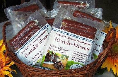 Salchichas para perros sin especias de Keksdieb (10 unidades)