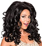 Rubies Costume Co Women's Felicity Frappuccino Wig, Black, One Size