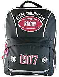 Sac à dos scolaire TOULOUSE - Collection officielle STADE TOULOUSAIN - Rugby