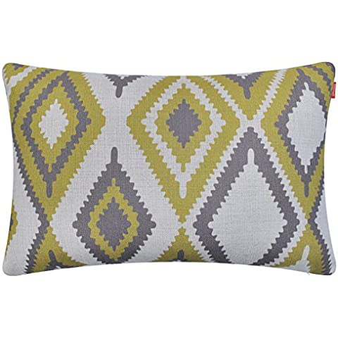 Shinnwa Geometrico Poliester Funda Almohada Decorativa Fundas Cojines para Sofa, 30cm X 50cm
