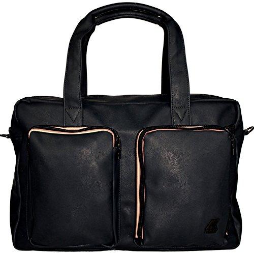 7a9d9996a0 Borsa Borsone Uomo Donna K-Way Bag Men Woman K-Pocket Plus Brieface Black