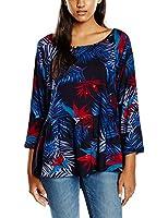 Roxy Women's Landslide J WVTP Floral Long Sleeve Blouse