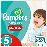 Pampers Baby Dry Pants, Taille 5, 11–18 kg, couches,  (4 x 24)