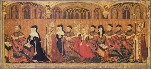 Leinwandbild 110 x 50 cm: Jean I Jouvenel des Ursins von French School / Bridgeman Images - fertiges Wandbild, Bild auf Keilrahmen, Fertigbild auf echter Leinwand, Leinwanddruck