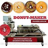 Machine à donuts professionnelle pour gastronomie 6000 W