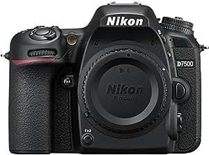 Nikon D7500 DX-Format Digital SLR Body (Black)