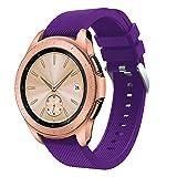 Correas para Relojes, Zolimx Suave Silicona Pulseras de Repuesto Banda de Reemplazo Correa para Samsung Galaxy Watch 42mm