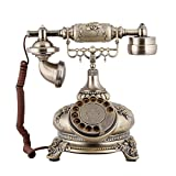 LYAO OfficeProducts@ Antik Vintage Telefon Wählscheibe Telefon/Home/kreative kontinental Flugzeuge