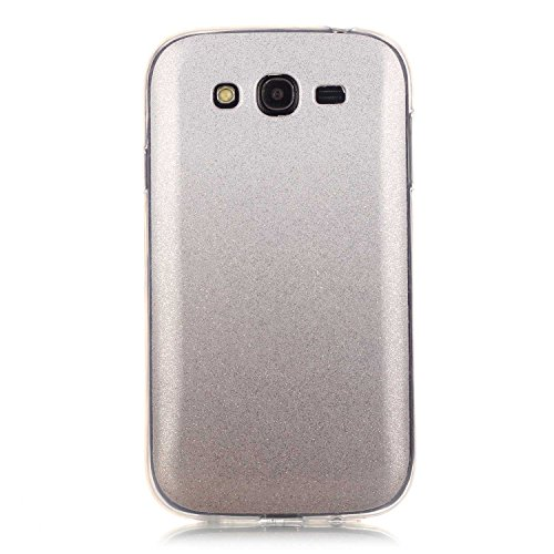 Meet de Slim de Protection Téléphone Case pour Apple iphone 5C, Apple iphone 5C Bumper Case Coque, (changement graduel) jaune Apple iphone 5C Slim TPU Transparent Silicone Housse Etui pour Apple iphon blanc