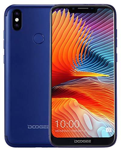 DOOGEE BL5500 LITE 4G Handys ohne Vertrag Günstig, Dual SIM Smartphone Android 8.1 5500mAh Akku 19:9 6,19 Zoll, 13MP+8MP+5MP Kameras, 2GB RAM 16GB ROM, 13MP+8MP+5MP Kameras, Fingerabdruck - Blau