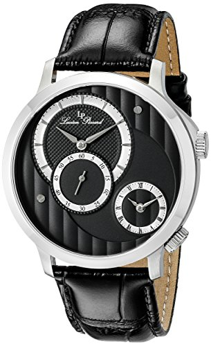 Lucien Piccard Men's LP-10337-014 Messina Analog Display Quartz Black Watch