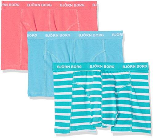 bjorn-borg-herren-boxershorts-3p-shorts-bb-stripe-turquoise-ceramic-m