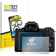 Brotect Canon EOS M50 Pellicola Protettiva [2 Pack] Protezione Proteggi Schermo Transparente
