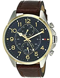 Tommy Hilfiger Analog Blue Dial Men's Watch - TH1791275J