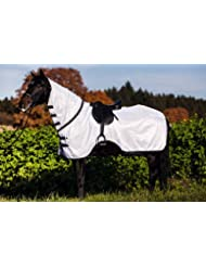 KERBL RugBe Flyno Couverture Anti-Mouches pour Cheval