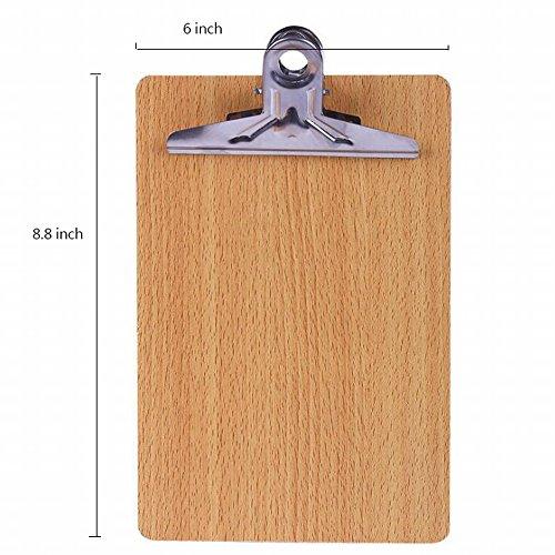 Buydirect Porte-bloc Planche à dessin d'écriture en bois avec crochet de suspension 32K Lot de 2