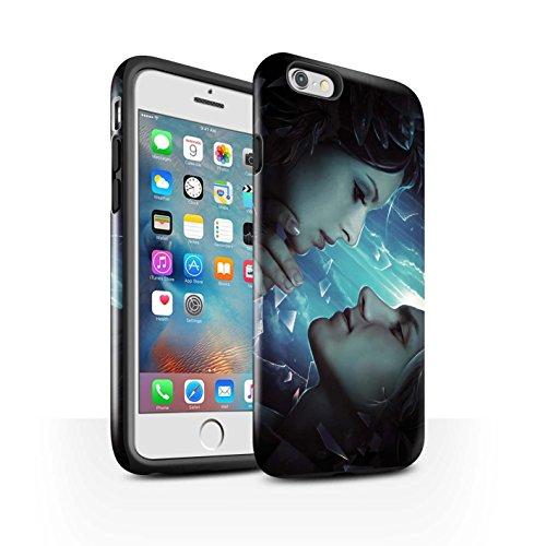 Officiel Elena Dudina Coque / Brillant Robuste Antichoc Etui pour Apple iPhone 6+/Plus 5.5 / Pack 7pcs Design / Art Amour Collection Verre brisé