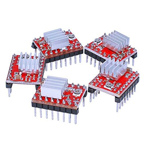 redrex-5pcs-a4988-stepstick-stepper-motor-driver-module-avec-dissipateur-de-chaleur-pour-reprap-impr