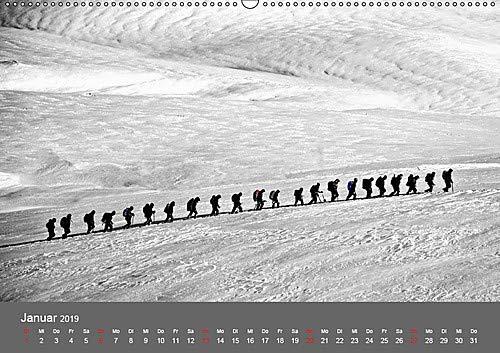 Bergsteigen .- Extremsport am Limit (Wandkalender 2019 DIN A2 quer): Bergsteigen, Faszination und Sport zugleich - eine echte Herausforderung (Monatskalender, 14 Seiten ) (CALVENDO Sport)