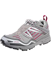 Berghaus Limpet Low GTX Tech Trail des femmes Course à pied Chaussures - Gris