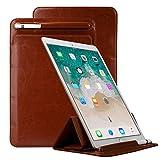 IPad Pro 10.5 Zoll Hülle, TechCode Portable Stilvolle Elegante Ultra Slim Leichte Flip Folio PU Leder Schutz Stand Case Hülle mit Stifthalter für iPad Pro 10.5