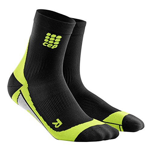 CEP Herren Strumpf Dynamic Short Socks Schwarz