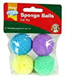 Good Girl - Sponge Balls Cat Toy (4 Pack)