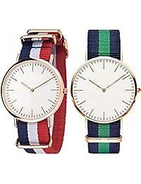 Shree Enterprise Watch Combo Of 2 Watches Beautiful Watch For Girls & Women | Blue, White, Red, Green Belt | 3...