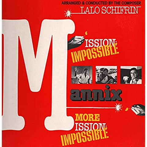 Lalo Schifrin - Mannix - Mission : Impossible , Version Originales ( Vinyle, album 33 tours 12