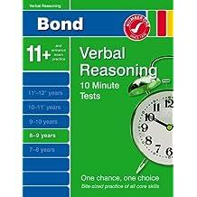 Bond 10 Minute Tests Verbal Reasoning 8-9 years