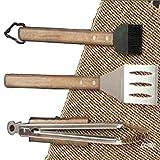 Charcoal Companion Kit de utensilios para barbacoa Over Pro Chef Espresso CC1000 (3 piezas)