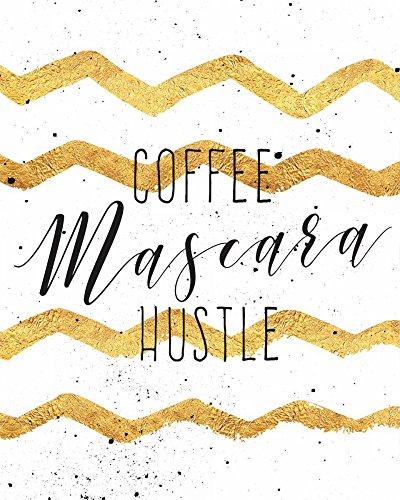 The Poster Corp Tammy Apple - Coffee Mascara Hustle Kunstdruck (20,32 x 25,40 cm)