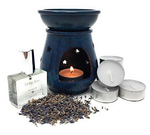 Living-Aura-Natural-Stone-Essential-Oil-Diffuser-Set