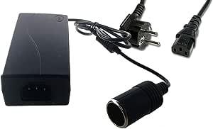 12v 5a 60w Netzteil Mit Zigarettenanzünder Adapter Spannungswandler Netzadapter Baumarkt
