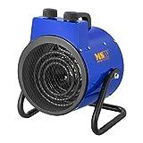 MSW Chauffage À Air Pulsé Électrique Aérotherme Radiateur MSW-TTEH-3000 (3000 W, 2 Niveaux De Puissance, 0-85°C, 185 m3/h)