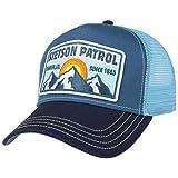 Stetson Patrol Trucker Cap Herren/Damen - Baseballcap aus Baumwolle - Schirmmütze größenregulierbar - Schildmütze mit Mesh-Einsatz - Truckercap Winter/Sommer - Kappe Curved Brim