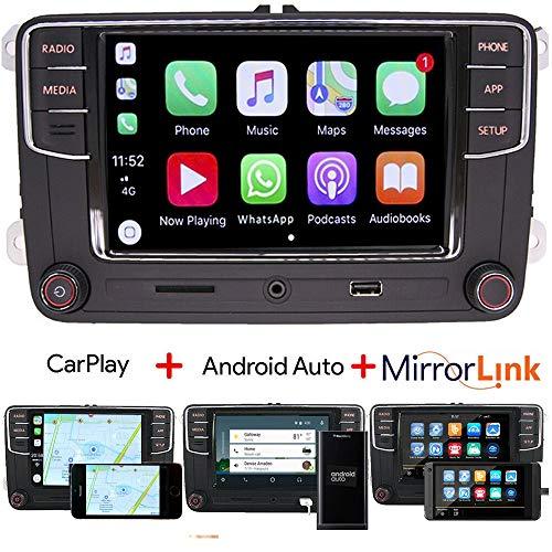 RCD330 Autoradio Carplay, Android Auto, BT, AUX, RVC USB Für VW Golf Passat TIGUAN