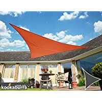 Kookaburra Waterproof Terracotta Shade Sail 5m triangle