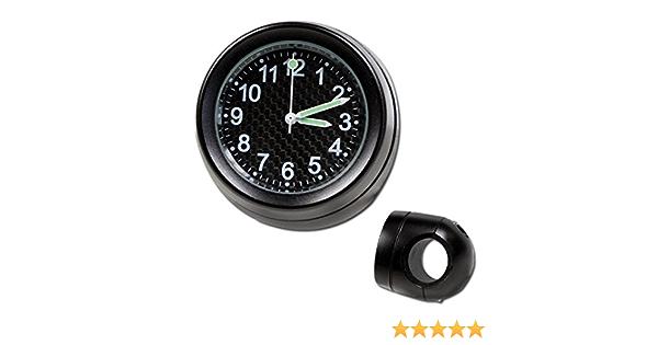 Lenker Quartz Uhr 7 8 1 Zoll Schwarz Ø 40 Mm Zifferblatt Carbon Auto