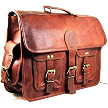 "15"" Vintage Leather Messenger Soft Leather Briefcase Satchel Leather Laptop Messenger Bag For Men And Women For Znt Bags"