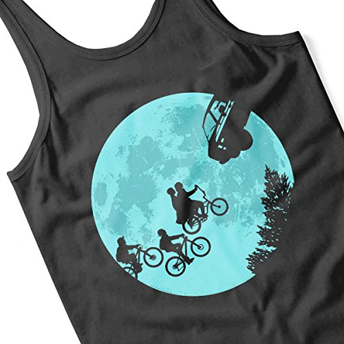 Stranger Things ET Moon Women's Vest Black