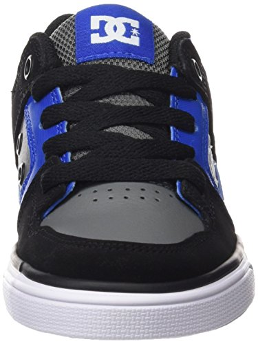 DC Shoes Jungen Pure Sneakers Azul (Black / Blue / Grey)