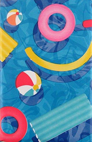 Elrene Summer Fun Tischdecke für Pool-Party, Vinyl 60
