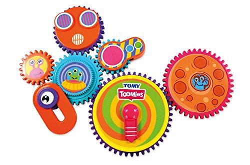 TOMY- Gearation Magnets Gioco Prima Infanzia, Multicolore, E72759C