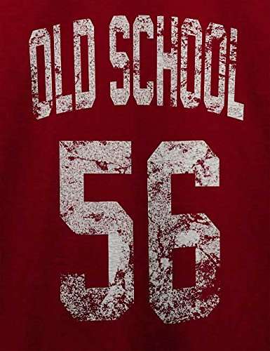 Oldschool 1956 T-Shirt Bordeaux
