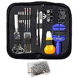 MMOBIEL 144 pezzi Orologiaio Riparazione Tool Kit in Nylon Bag
