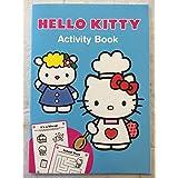 Hello Kitty mejores amigos azul actividad Libro muy buen libro RRP £ 4,99